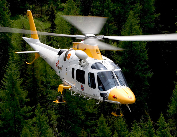 Helicopter Agusta AW109 POWER