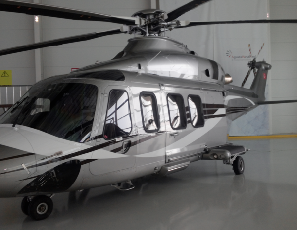 Helicopter Agusta AW139